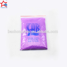 colored silica sand for purple color sand