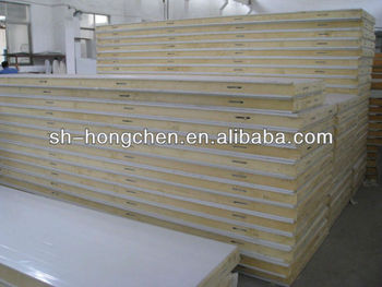 Industrial warehouse 100mm PU Insulated Sandwich Panels