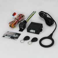 Lixing car ignition security system with 12cm sensing distance for power cut-off petrol cut off