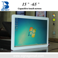 22 inch wall mounted high sensitivity capacitive touch screen kiosk