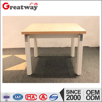 Wooden table use wooden tea table design with metal table legs