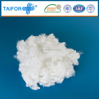 hollow conjugated polyester staple fiber polyester siliconized3Dx64MM HCS