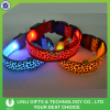 New Hot Multicolor LED Dog Collar Light With Leopard Print