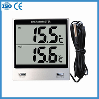 digital Thermometer for showing max min temperature with LCD display JW-80