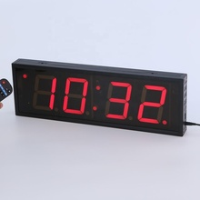 Hot sell 4 inch 4 digits remote LED countdown <strong>timer</strong>