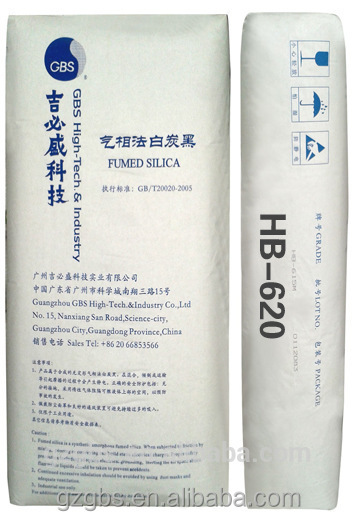 Fumed silica powder for silicon rubber and silicon adhesive 620
