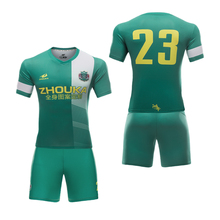 Factory maker custom cheap soccer training jerseys cheap sublimated football team shirt