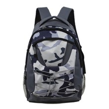 100% polyester material Leisure use outdoor Camo backpack