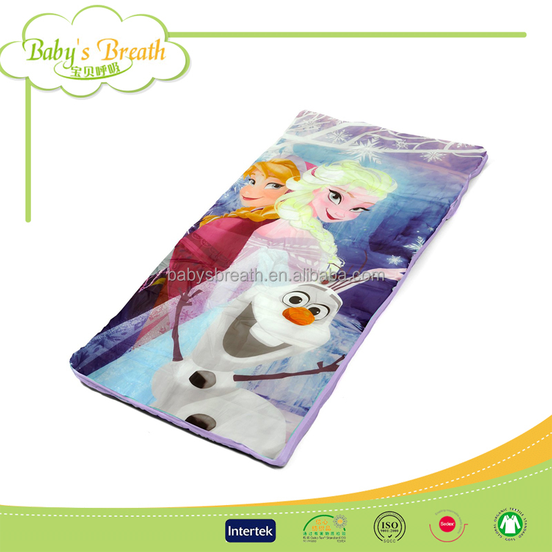 BSB1197A super soft cotton embroidered cute baby princess bag sleeping bags for cold weather
