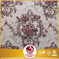 Polyester cotton jacquard African sofa cover fabric