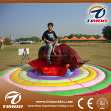 Adult and kids entertainment thrilling park rides mechanical electric bull for sale