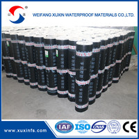 Cheap building materials 4mm self-adhesive bitumen waterproof membrane