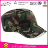 Latest style fitted camo military custom flat top caps