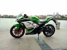 trade assurance factory customize high speed kawasaki electric motorcycle