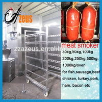 electric automatic meat smoker oven for sausage fish pork beef bacon