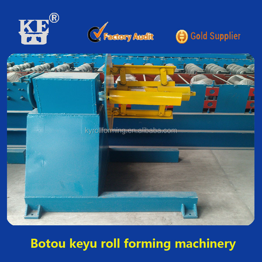 KY manual uncoiler,decoiler machine used for strip steel