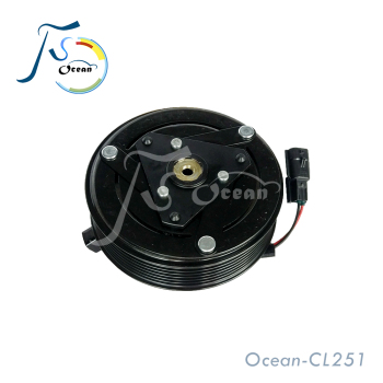 CVC 12V Electromagnetic Clutch For Nissan Dualis Qashqai-1.6L AC Compressor NS920600JD000 CL251