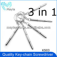 High quality 3 in 1 eyeglass screwdriver,universal screwdriver KS03