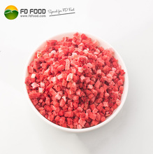 freeze dried strawberries cube or powder for biscuit
