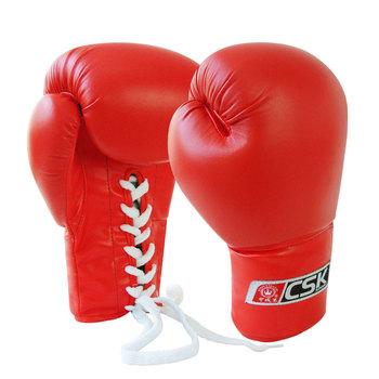 Custom Lace Up Boxing Gloves