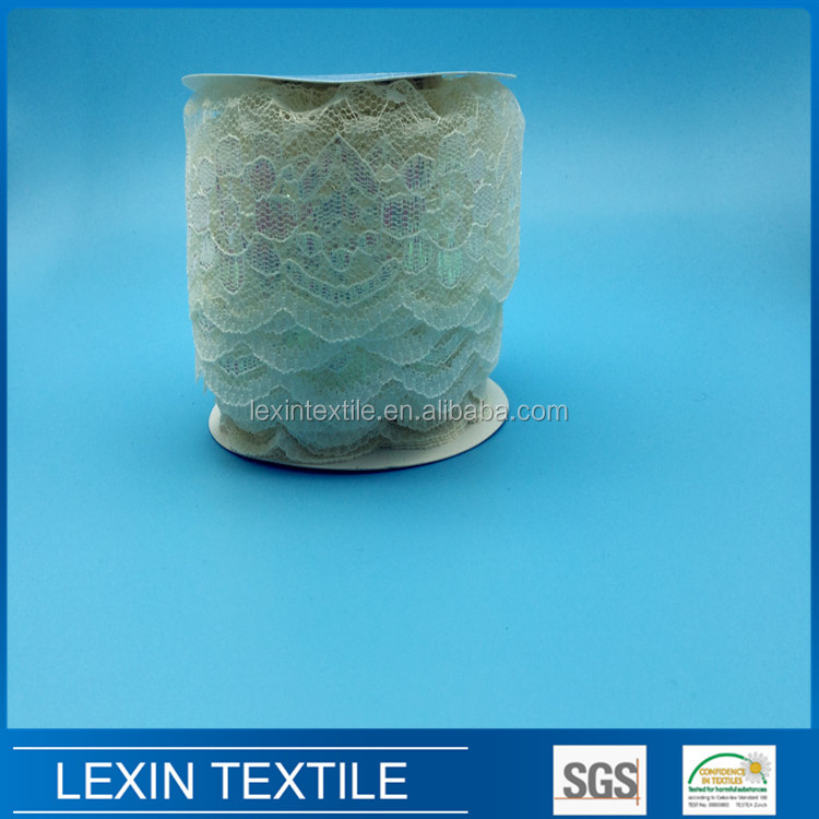 lexin <strong>03</strong> best selling nylon decorative lace trim for tutu dress