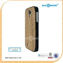 wood pc mobile phone case for samsung galaxy s4 phone case