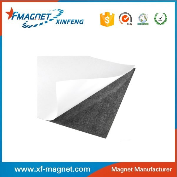 2015 Customized Adhesive Backed Rubber Magnetic Sheets