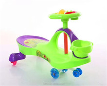 Wholesale hot selling baby swing car/Cheap wiggle car toys for kids/children swing car ride on toys