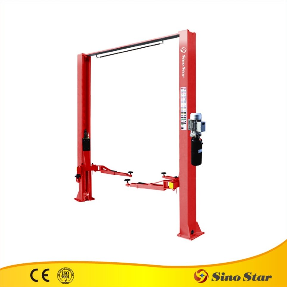2 post car lift/used car lift l-2-45d/ce china smart used scissor car lift for sale(SS-CLB-40)