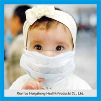 2015 newest design kids mask, disposable 3ply children face mask