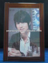 nice glass crystal photoes frame for home decorations(R-1115)