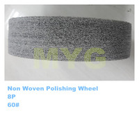 Brown White abrasive wheel for water channel polishing