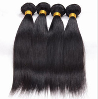 Angelbella Factory sale Silky Straight Wave One Piece Human Hair Extensions Ponytail Best Human Hair For Weaving