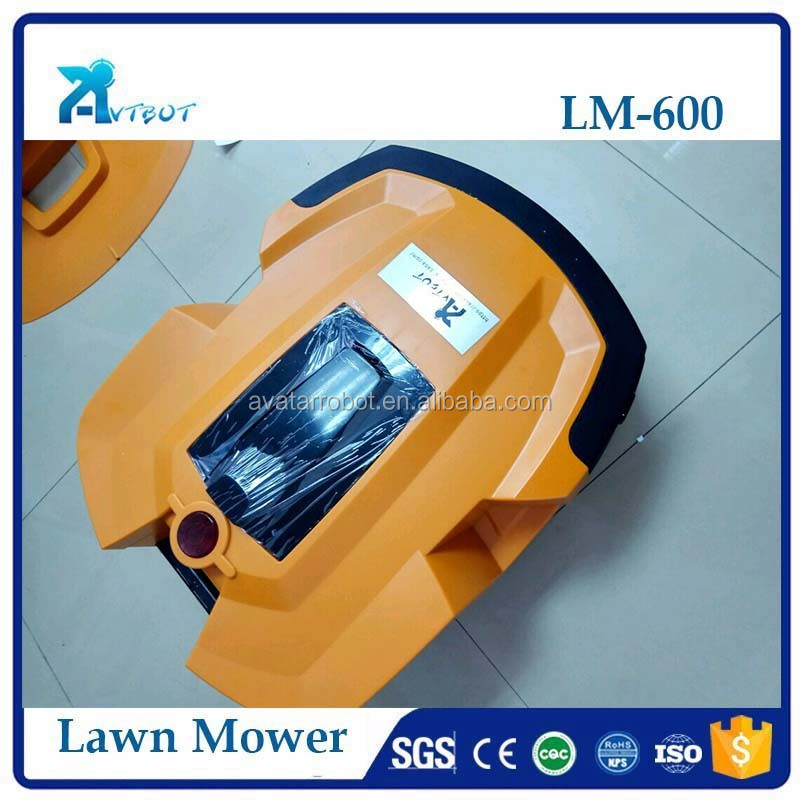 5000m2 mowing used mini robot lawn mover