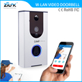Battery back-up door bell camera TF Card Recording PIR motion alarm battery wifi intercom