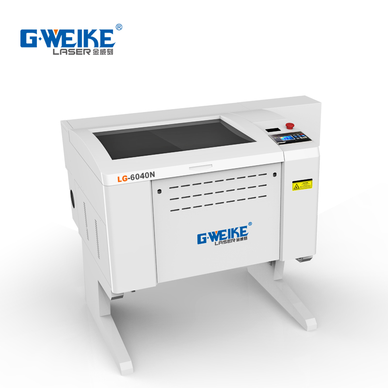 2018 <strong>G</strong>.Weike LG6040N CO2 laser cutting machine with up and down table 60W 80W