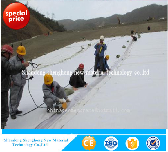 100% Polyester 200g/m2 Nonwoven Geotextiles For Construction &real Estate