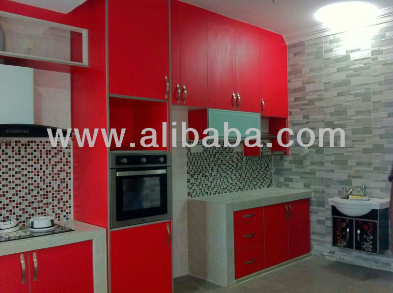 3D / Melamine Kitchen Cabinet
