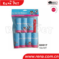 High quality cheap Remover Sticky cat lint roller with handle