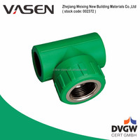 VASEN Water Supply CE Certification Pipe Branch Tee Fitting /Tee Joint