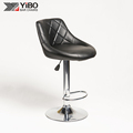 modern pu seat adjustable bar stool