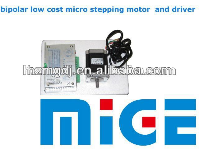 Bipolar low cost micro stepping motor and driver 23hm8430 for Low cost stepper motor
