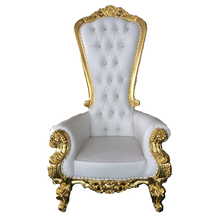 Wholesale Luxury Bride And Groom Royal Throne King chair Hotel <strong>Furniture</strong>