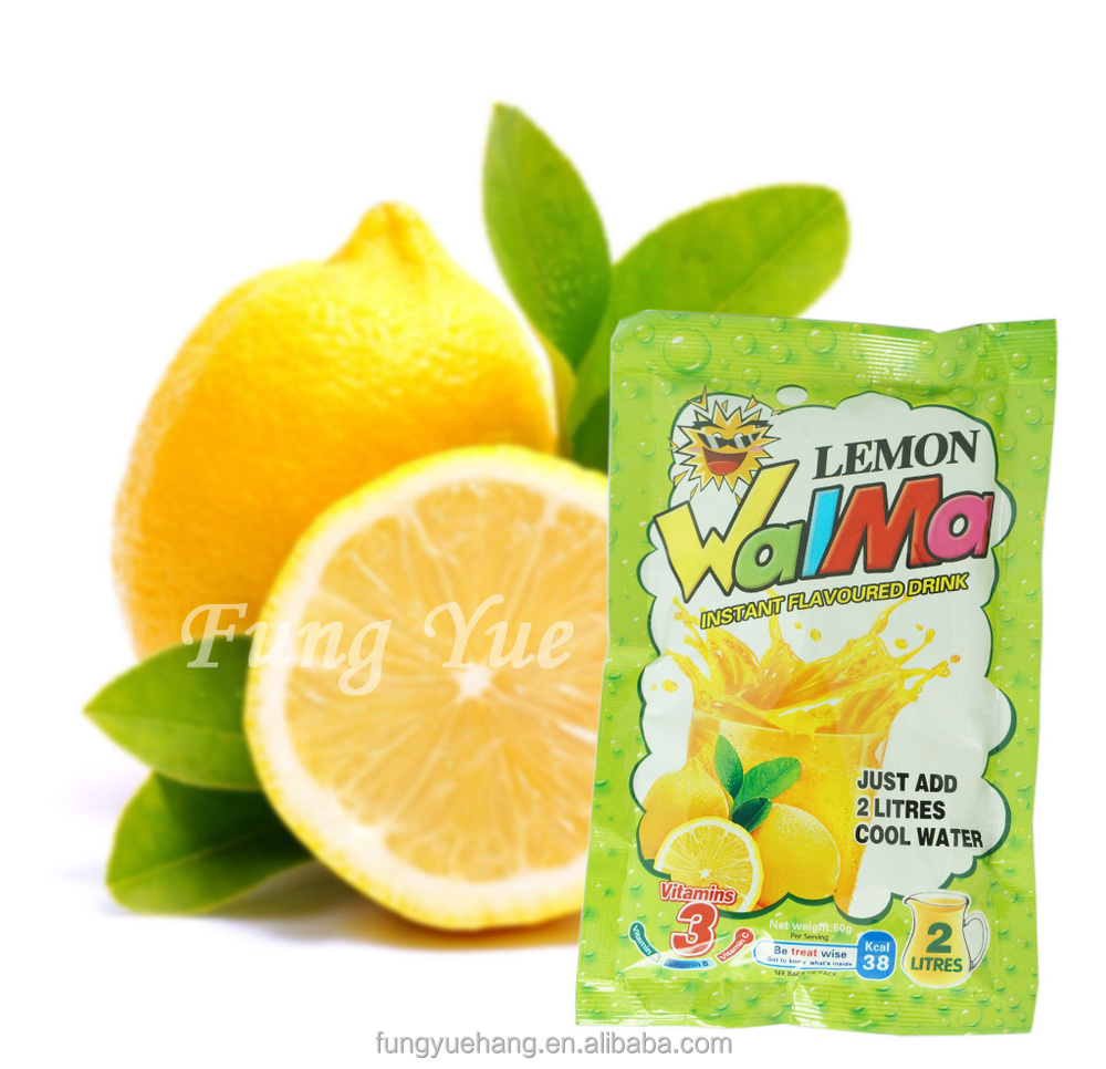60g juice powder Lemon taste dried Instant Juice