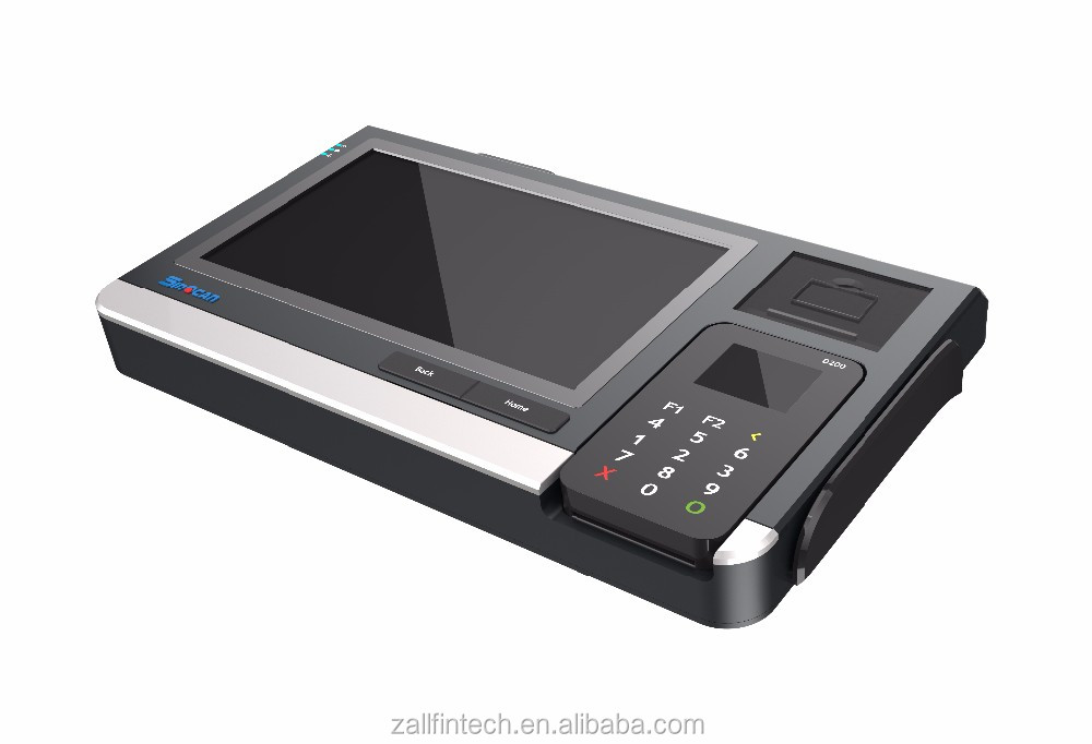 Tablet POS manufacturer for smart card reader with IC MSR NFC