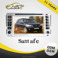 For navigation system hyundai santa fe with bluetooth gps antenna usb interface for car radio