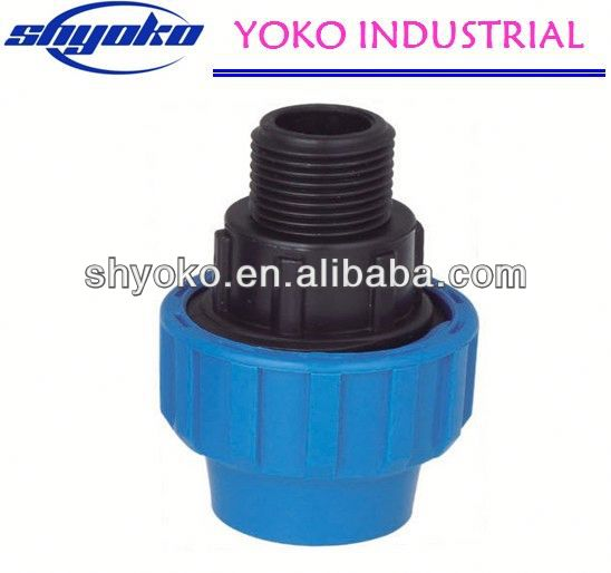 2014 Factory high quality PP coupling fittings Pipe Fittings polypropylene ppr water pipe and fittings