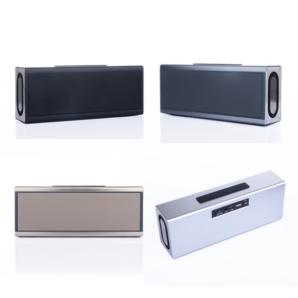 portable outdoor mobile Aluminium bluetooth speaker for smartphone,Tablet PC