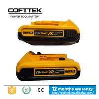 Original Korea battery cell For Dewalt 20V 2.0Ah Max Lithium Ion Compact Battery Pack DCB203