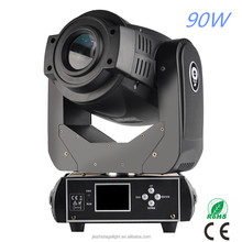 90 watt led zoom spot wash beam 90w moving head light stage disco dj lighting